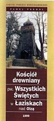 Porwoł P., 1999r., Kościół drewniany pw. Wszystkich Świętych w Łaziskach nad Olzą, Wodzisław Śl.